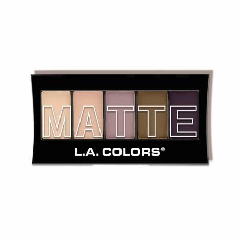 L.A. Colors Paleta 5 matných stínů